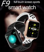 Wholesale touch screen wrist watches for sale – best F9 Bluetooth Smart Watch Full Touch Screen Heart Rate Monitor Fitness Tracker IP67 Waterproof Smart Bracelet For Xiaomi iPhone