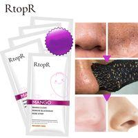 Wholesale deep cleansing strip resale online - RtopR Blackhead Remover Nose Mask Pore Strip Black Mask Peeling Acne Treatment Face Mask Deep Cleansing Oil control Skin Care