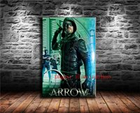 ingrosso moderne stagioni d'arte-Green Arrow Fifth Season, Canvas Painting Living Room Home Decor Modern Mural Art Pittura a olio