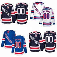 Wholesale youth jerseys new york rangers for sale - Group buy Custom New York Rangers Mens Womens Youth Navy Blue Third White Home Personalized Any Name Any Number Stitched Hockey Jerseys S XL