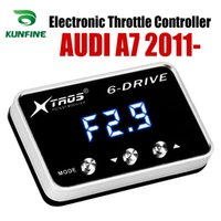 Wholesale audi car parts resale online - Car Electronic Throttle Controller Racing Accelerator Potent Booster For AUDI A7 Tuning Parts Accessory