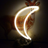 ingrosso fata leggera a letto-Star Fairy 2019 Star Neon Sign Luce al neon a LED con base del supporto per la decorazione domestica del comodino della camera da letto di casa