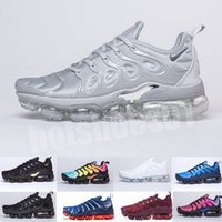 Wholesale best shoes for camping for sale - Group buy 2020 TN PLUS Running Shoes For Men Women Black Speed Red White Anthracite Ultra White Black Best Designers Sneakers MY5546