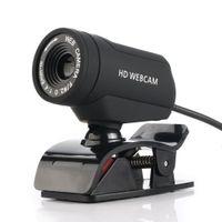 ingrosso camme web usb-webcam web usb camera web cam Webcam HD Computer Camera microfono incorporato per PC Laptop Plug USB per videochiamate