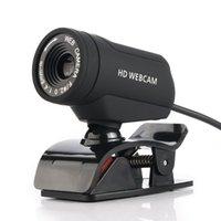 prise vidéo pc achat en gros de-webcam webcam caméra Web webcam webcam HD ordinateur caméra Microphone intégré pour PC portable USB Plug pour appel vidéo