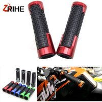 Wholesale motorcycles handle bar resale online - 7 MM Universal moto handlebar grips Handle Grips hand bar grip motorcycle Accessories For YZFR6
