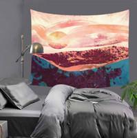amerikanische tapisserie groihandel-Schlafzimmer Wohnzimmer Art Tapestry Nordic amerikanische Explosion Hanging Stoff Ausgangsdekor-Wand Polyester Tapestry 150x170cm