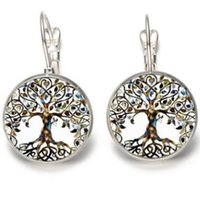 d585e75cf Wholesale tree life stud earrings online - THE TREE OF LIFE SILVER PLATED  EAR HOOK CLIP