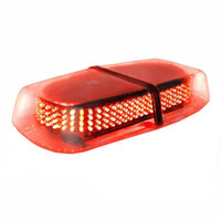 luz de advertencia del techo al por mayor-Luz estroboscópica de barra mini LED con base magnética 240 LED Aplicación de la ley Peligro de emergencia Advertencia Techo superior