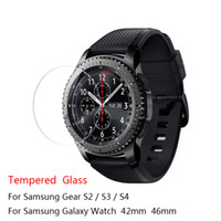 Wholesale glass screen protector for s4 for sale – best For Samsung Gear S3 S4 S2 Classic Tempered Glass H D Premium Screen Protector Film For Samsung Galaxy Watch mm mm