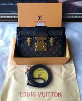 Wholesale cross shoulder cell phone bags resale online - 2019 M40273 NEW PETITE MALLE FASHION BOX BAG Shoulder Bags Hobo HANDBAGS TOP HANDLES BOSTON CROSS BODY MESSENGER SHOULDER BAGS