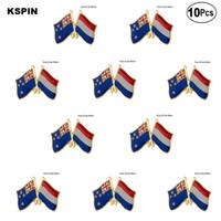 New Zealand Netherland Lapel Pin Flag badge Brooch Pins Badges 10Pcs a Lot