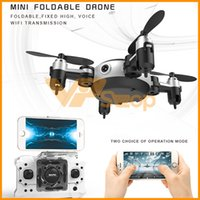 Wholesale mini helicopter batteries resale online - Mini Quadcopter KY901 Foldable RC Drones With MP Camera Flying Aircraft Remote Control RC Helicopter WIFI Aerial Drone