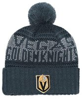 Vegas Golden Knights Beanie Sideline Cold Weather Graphite Official Revers Sport  Knit Hat All Teams winter Warm Knitted Wool Skull Cap 04 8be53c15889f