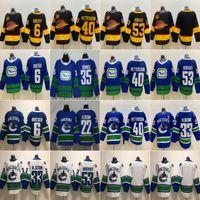 Wholesale sedin jersey for sale - Group buy 40 Elias Pettersson th Seasons Vancouver Canucks Bo Horvat Brock Boeser Daniel Sedin Henrik Sedin Ice Hockey Jersey