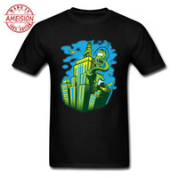 camisetas verdes en blanco al por mayor-Green Anime Funny Mens T-Shirt Leon Blank T-shirts Teal Shirt Hombres Urban T-Shirt para hombres Junji Ito 90 Cartoon Tee Shirt