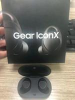 ingrosso qualità stereo del trasduttore auricolare-Auricolari TWS di marca con scatola del caricabatterie Gear Iconx A + Cuffie Bluetooth di qualità per Samsung Phone Drop shiping