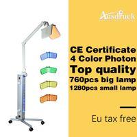 EU TAX FREE Professional BIO light therapy Photon LED Skin Rejuvenation acne treatment PDT facial care machine beauty salon equipment