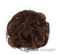 Wholesale synthetic hair chignon for sale - Group buy 188 European and American hot sale hairpin bag ball ssss
