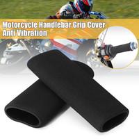 Wholesale foam frames for sale - Group buy 1pair CM Motorbike Handlebar Grip Cover Motorcycle Frames Fittings Universal Slip on Foam Anti Vibration Motorcycle Cover