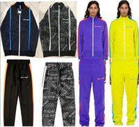 ingrosso giacca inverno nuovo stile-Nuovo Hot Palm Angeli gli uomini e le donne del rivestimento di usura di alta qualità l'autunno e l'inverno giacca Casaul Palm Angeli PA e pantalone 21 stile S-XL