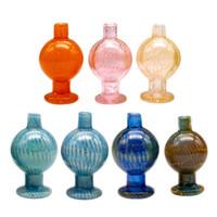 farbige bälle großhandel-Neue Design 25mm farbige Quarz Banger Blase Carb Cap für Terp Perle Ball Quarz Thermal Banger Nägel Dabber Glas Bongs Tupfen Öl Riggs