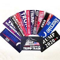 tampon moda toptan satış-Donald Trump 2020 Sticker Amerika Başkanı Tanıtım Araba Sticker Moda Posteri Çıkartmalar Açık Araba Tampon Çıkartması Etiketler BH1930 TQQ