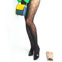 patrones de ropa sexy al por mayor-Patrón de las mujeres medias atractivas mujeres clásico geométrica Socking partido calcetines de algodón calcetines negros Sheer medias de seda de la ropa de vacaciones
