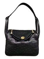 ärzte weiche handtasche groihandel-Multi-Color New Straußenledertasche Leder One-Schultertasche aus weichem Leder Arzttasche Gepäck