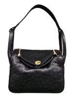 мягкая сумка для врачей оптовых-Multi-Color Новый страуса кожаная сумка кожа одно плечо сумка из мягкой кожи Врачи мешок багажа