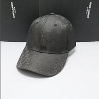 ingrosso cappello nero degli uomini-Berretti da baseball monogramma in cotone di marca per uomo e donna cappelli pieghevoli ombrelloni da spiaggia nero pescatore in vendita cappelli berretti da uomo pieghevoli