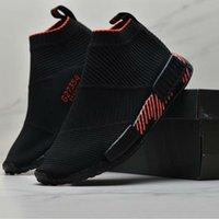 cidade esportes tênis venda por atacado-NMD R1 sapatos altos meias Mens CS1 PK Sapatilhas por Masculino Cidade Sock Formadores das mulheres G27354 Meias Sapatos esportivos tênis de corrida das mulheres