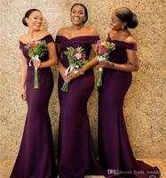 formale kleider für die kirche großhandel-Hübsche südafrikanische Brautjungfer Kleid billig Sommer Land Garten Kirche formale Hochzeitsfeier Gast Trauzeugin Kleid Plus Größe nach Maß