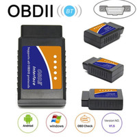 Wholesale obd tool android for sale - Group buy New ELM V1 Interface Works On Android Torque CAN BUS Elm327 Bluetooth OBD2 OBD II Car Diagnostic Scanner tool