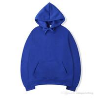 hoodie preto para homens venda por atacado-Hoodie Outono Inverno Homens Com Capuz Hip Hop Streetwear Hoodie Manga Longa Preto Cinza Hoodies Designer Moletons M-2XL