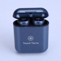 наушники оптовых-Новый X3T Беспроводная связь Bluetooth 4.2 Многофункциональная кнопка Наушники Мини TWS Touch Operation Stero Наушники 6 цветов