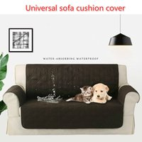 Wholesale chair protectors covers resale online - Houses Waterproof Suede Pet Dog Cushion Mat Sofa Slipcover Coat Dirt ProofAnti Skid Chair Couch Sofa Protector Cover MMA1182