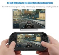 Wholesale games mp3 player resale online - Video Game Console X9 Handheld Game Player for PSP Retro Game inch Support TV Out Mp3 Movie Camera nice gift