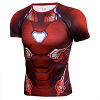 т короткие мстители оптовых-Marvel Avengers Endgame Iron Man Мужская Дизайнерская Футболка Капитан Америка Тор Человек-Паук 3D Печатный С Коротким Рукавом Быстросохнущий Футболка Одежда