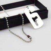 tom spiele großhandel-Spiel Rainbow Six Siege Halsketten für männliche Tom Clancy Silber Gliederkette Halskette Kragen Frauen Männer Schmuck
