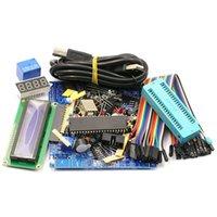 Wholesale kit mcu resale online - 51 Mcu Development Board Learning Board Kit Diy Kit Welding Components Single Chip Core Parts