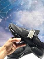 moda homem sapatos itália venda por atacado-Itália Designer de Moda de luxo Homens Sapatos Casuais Sapatilhas Cloudbust Alta qualidade de couro e tecido sapatos