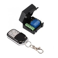 Wholesale wireless remote control relay switch resale online - Universal Remote Mini Relay Remote Control V Universal Wireless Control Switch Replacement Automatic Self Locking Relay