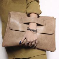 bolso de noche de diseñador sobre al por mayor-Sobre de mujer de moda Bolso de noche Bolsos de cuero de embrague de lujo de diseñador bolsos de mujer bolsos de mano bolso de hombro de mujer Monederos