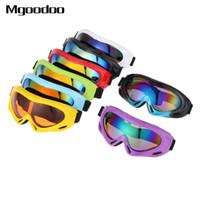 Wholesale snowmobile eyewear resale online - New Ski Snowboard Goggles Mountain Motorcycle Glasses Skiing Windproof Eyewear Snowmobile Winter Sport Sunglasses Snow Glasses