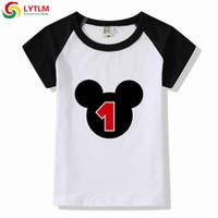 f8d44f4d52 birthday t shirts Australia - LYTLM Funny Cute T Shirt Baby Clothing My  First Birthday Birthday