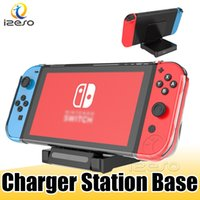 Wholesale nintendo switch docks for sale - Group buy USB Charging Dock Holder for Nintendo Switch Lite Travel ABS Mini Charger Base Stand Station for NS Switch Lite with Retail Packaging izeso