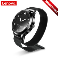 Wholesale Lenovo Watch X Plus Smart Watch Milanese Fashion Watch Oled Screen m Waterproof Heart Rate air Pressure temperature Monitoring J190522