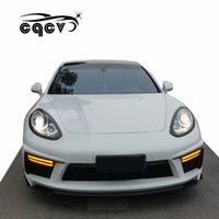 углеродное волокно porsche оптовых-Высококачественный карбоновый обвес в стиле арт арт для Porsche Panamera 970 передний бампер задний бампер передняя губа боковые юбки задняя губа