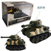 tanque de tigre al por mayor-Mini Tiger RC Tank Modelo Imitar Radio Control Remoto Tanque Radio Controlado Juguetes Electrónicos Tanque para Niños Niños